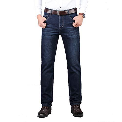 R.PRINCE Men's Jeans Stretch Regular Fit Jeans for Men, Blue Denim Jeans, Five Pocket (38)