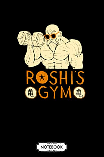 Roshis Gym Notebook: 6x9 120 Pages, Diary, Lined College Ruled Paper, Journal, Planner, Matte Finish Cover