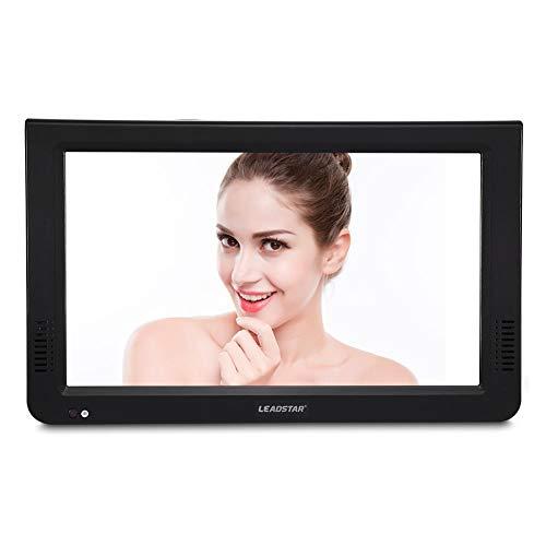 Richer-R TV Portatile DVB-T / T2,ASHATATV LCD DVB-T-T2 da 10 Pollici, TV Analogica Digitale Portatile TV 1024x600 TV, Supporto USB/TF, RMVB/AVI / MPEG/MKV / MOV 1080P Video ecc.