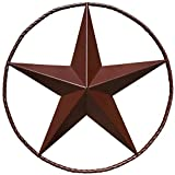 Western Star 4900 Custom Grilles - Barn Star - Metal Stars for Outside Texas Stars Art Rustic Vintage Western Country Home Farmhouse Wall Decor (18
