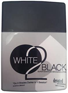 Devoted Creations White 2 to Black Tanning Bed Lotion