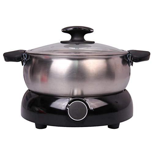Multifunktions-Elektroherd Hot Pot Split-Typ Haushalt Multifunktionskoch Reiskocher Elektrische Pfanne Große Kapazität DREI-Gang-Thermostat
