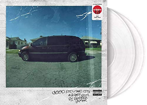 good kid, m.A.A.d city - Exclusive Limited Edition Clear 2XLP Vinyl