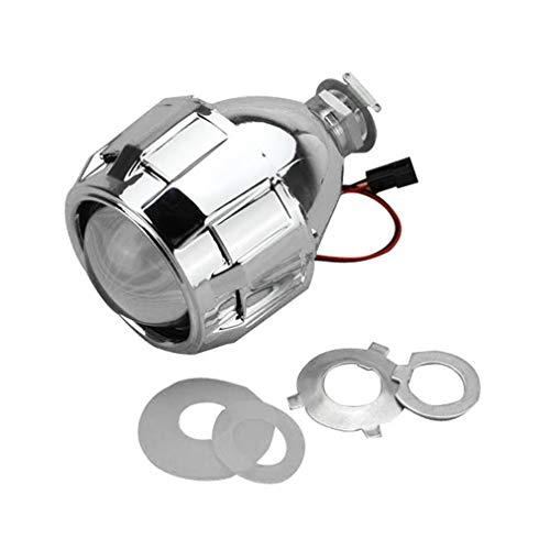 2,5 inch Xenon Bi-xenon HID Clear Projector Lens Shroud Koplamp H1 H4 H7 Zilver