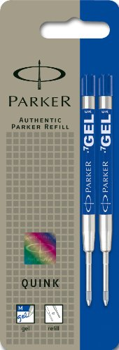 Parker QINK - Minas de repuesto para bolígrafo de tinta gel