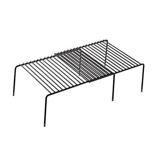 NorCWulT Küchenschrank Regal Drahtgestell Freistehende Küchenregal Lagerregal erweiterbares Regal für Küchenschränke, Arbeitsplatten, Küchenschränke