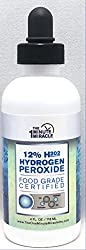35% H2o2 Diluted to 12% Hydrogen Peroxide Food Grade - 4 oz Bottle - 3 Drops Equal to 1 Drop of 35%.