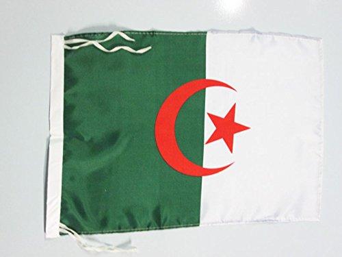 AZ FLAG Flagge ALGERIEN 45x30cm freiner Polyester - ALGERISCHE Fahne 30 x 45 cm - flaggen