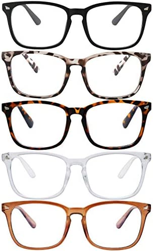 Blue Light Blocking Glasses Square Nerd Eyeglasses Frame Anti Blue Ray Computer Game Glasses product image