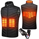 Sholov Heated Vest, Electric Heated Vest For Man Woman Heated Clothing USB Heating