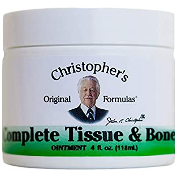 Dr Christopher s Formulas Complete Tissue and Bone Ointment - 4 oz