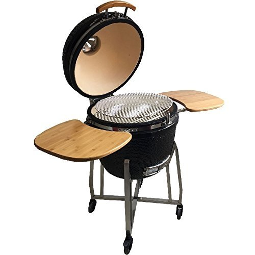 Syntrox Germany Kamado Grill Karnado 1 Barbecue BBQ Charcoal Grill Barbecue Smoker