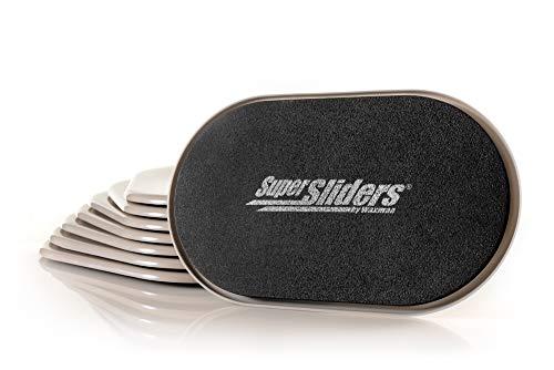 SuperSliders 4716595N Möbeluntersetzer für Teppiche, wiederverwendbar, XL, Leinen, 8 Stück