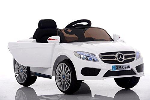 Babycar 815b Babyfun (bianco) Auto Elettrica Macchina per bambini bimbo bimba 12 volt con telecomando full optional porte apribili