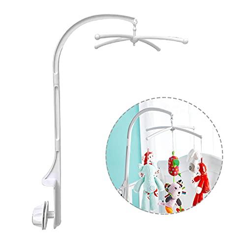 Fcslvy Fcslvy Campana de Cuna, soporte ajustable DIY Juguete Decoración Soporte de brazo colgante Soporte de cama de bebé Stent Set Tuerca Tornillo