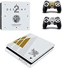 Playstation 4 Slim Skin Set – Video Game - HD Printing Vinyl Skin Cover Slimtective for PS4 Slim Console and 2 PS4 Controller by Bafna Anusha.