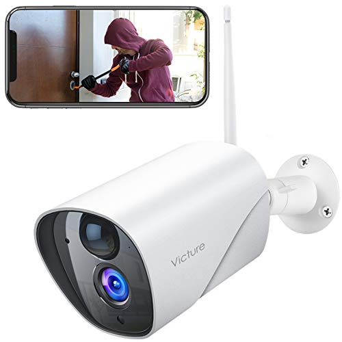 Photo of Victure Security Outdoor Camera With PIR Passive Infrared Sensor, 1080P CCTV Camera System with Night Vision, Two Way Audio, 2.4 G WiFi Outdoor Camera Compatible with IOS/Android.