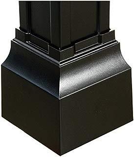 Balmoral Post Base Cuff in Black