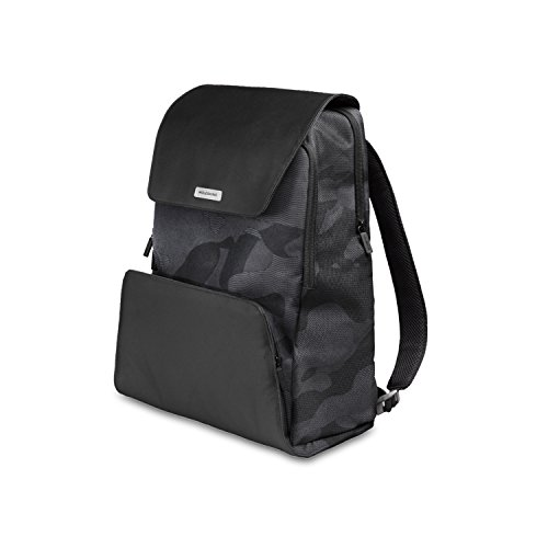 Moleskine City Travel Zaino Porta PC 15' e Tablet, Backpack con Dorso Traspirante, 31 x 19 x 46 cm, Camo Nero