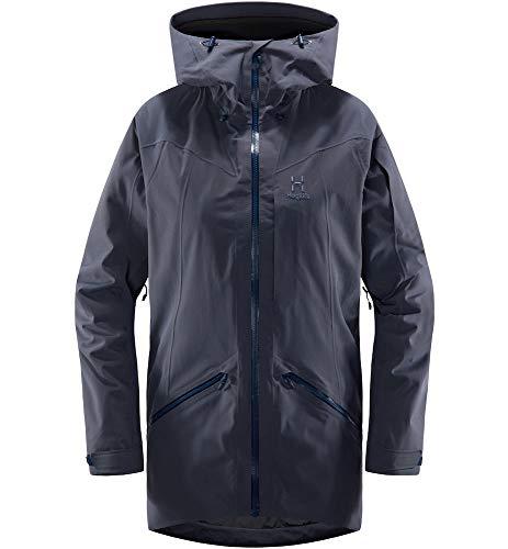 Haglöfs Skijacke Frauen Parka Niva Insulated Wasserdicht, Winddicht, Atmungsaktiv, Wärmend Dense Blue M M - Empty for carryovers -