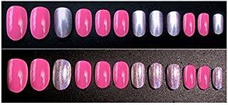 TBOP FAKE NAIL art reusable French long Artifical False nails 24 pcs set in Pink color