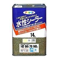 水性シーラー ライトレモン 14L【代引不可】