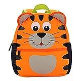 Mochila para niños, Animal Mochila Escolar TEAMEN® Toddler Kids Mochila Escolar para niños pequeños, Mochila para 2-5 años (Tigre)