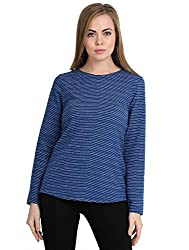 Deewa Solid Sweatshirt for Women/Girls
