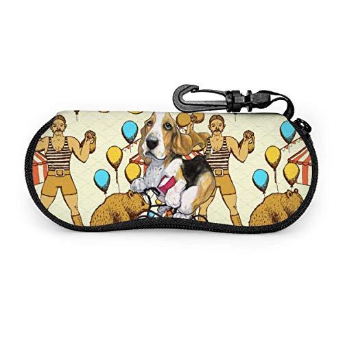 Sketch Circus Sonnenbrille mit Lock Buckle Soft Bag Brillenetui