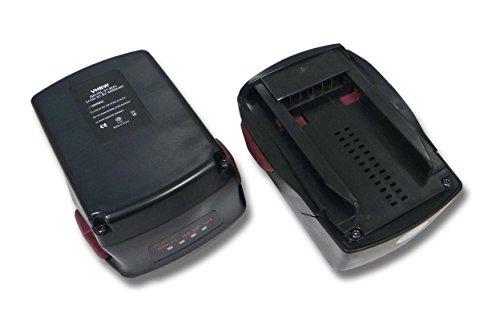 vhbw 2x Baterías compatibles con Hilti TE 6-A22, RT 6-A22, SFD 22-A, SF 6-A22, SF 6H-A22, SF 8M-A22, SF 10W-A22 ATC. (4000mAh, 21.6V, Li-Ion)