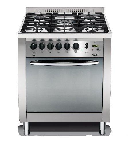 Lofra C76MF/C Cucina a Gas, Acciaio Classe di efficienza energetica A