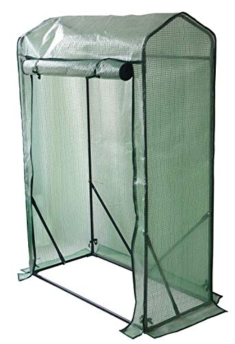 Weatherproof Tomato Plant Greenhouse Outdoor Indoor Grow-tent - 3 sizes by Crystals® (Tomato Greenhouse w Slanted Roof)