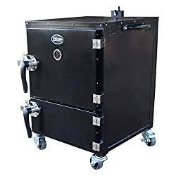 Honorable Mention for Best Reverse Flow Smoker: Tital Distributors Great Outdoors Reverse Flow Vertical Smoker
