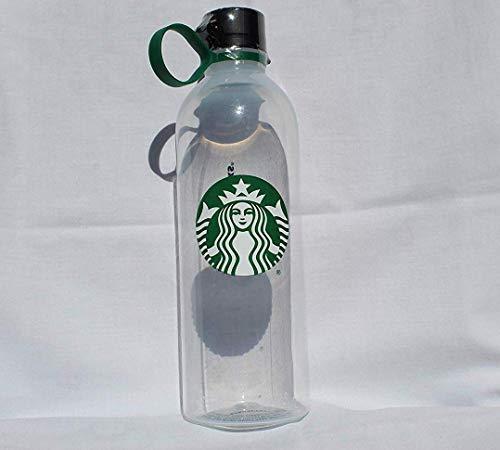 Starbucks Siren Wiederverwendbare Wasserflasche aus transparentem Kunststoff, 750 ml