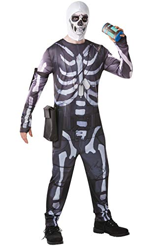 Fortnite - Disfraz Skull Trooper para adulto, talla M (Rubies 300195-M)