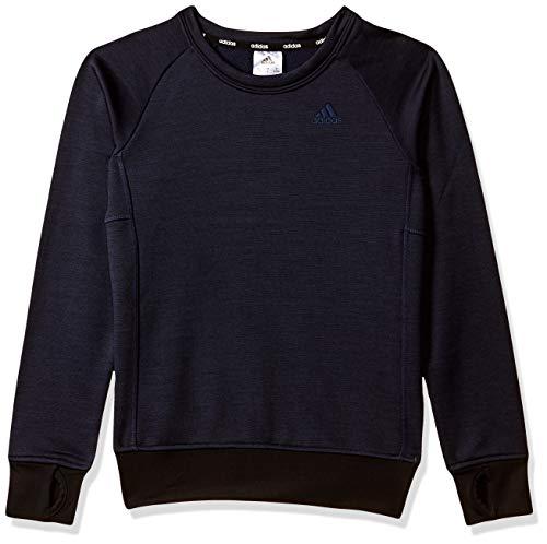 Adidas Girl's Synthetic Sweatshirt (CX0451_Legink_128)