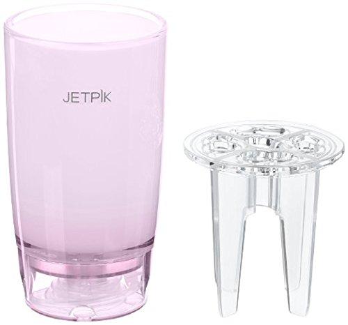 JETPIK JA05-110-05 Kombibecher mit Zubehörhalter und Wasserzuleitung, Pink