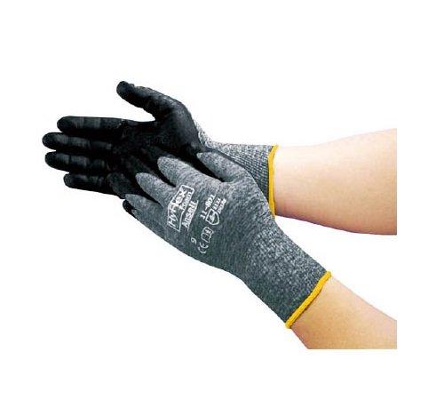 「オイルグリップ力に強い手袋」アンセル 軽作業用手袋 ハイフレックスフォームグレー M 118018