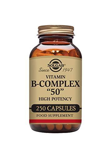 Solgar Vitamin B-Complex ''50'' Vegetable Capsules - Pack of 250