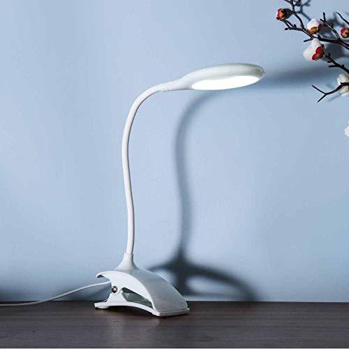 Lámpara de escritorio LED con abrazadera DC5V Luz de lectura Cuidado de los ojos Lámpara de mesa USB Lámpara de noche LED Clip de luz nocturna para bebés