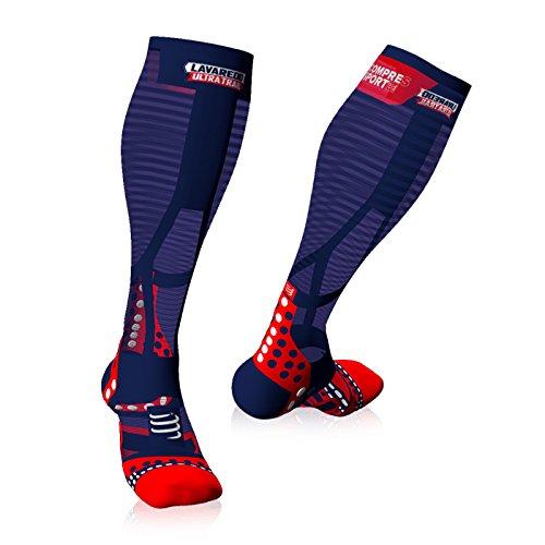 COMPRESSPORT Full Socks Ultralight Racing – Lavaredo Ultra Trail 2017 (T4)