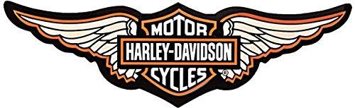 Adhesivos retroreflectantes para Casco de Moto Harley Davidson alas