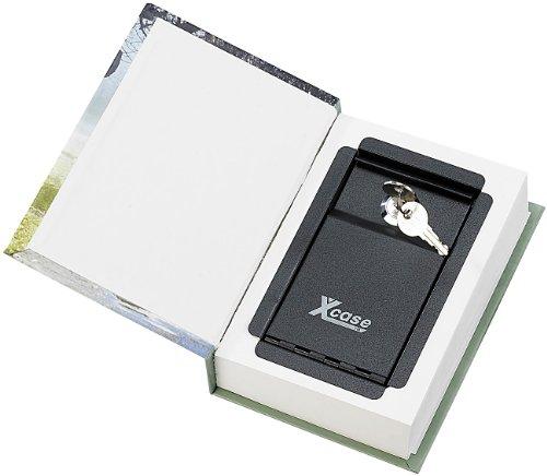 Xcase Buchtresor: Buch-Tresor, getarnt als Roman, ECHTES Papier, 18,5 x 13 cm (Versteck)