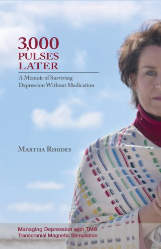 3,000 Pulses Later: A Memoir of Surviving Depression Without Medications by [Martha Rhodes]