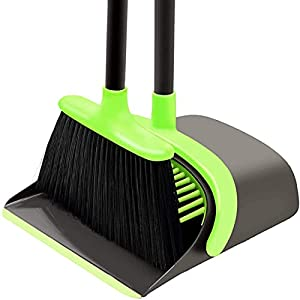 SANGFOR Broom and Dustpan Set