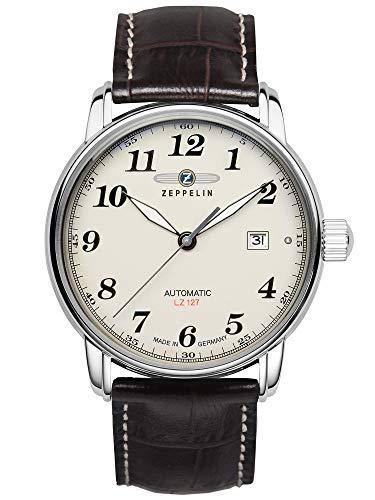 Zeppelin Herren-Armbanduhr LZ127 Graf Automatik 7656