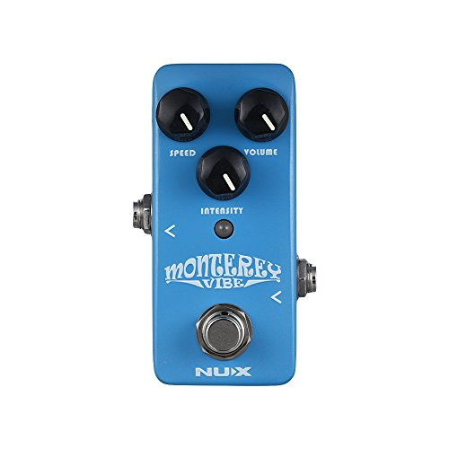 Muslady Guitar Effect Pedal Mix of Chorus Rotary Speaker Phaser Effects Full Metal Shell True Bypass