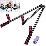 FIGROL Leg Stretcher Leg Split Stretching Machine Stretching Equipment Flexibility for Ballet, Yoga,Dance, MMA, Taekwondo & Gymnastics(Black)