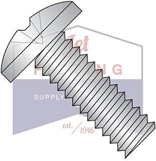 "8-32 x 5/8"" Machine Screws / Phillips / Binder Undercut Head / 18-8 Stainless Steel (QUANTITY: 4,500 pcs)"