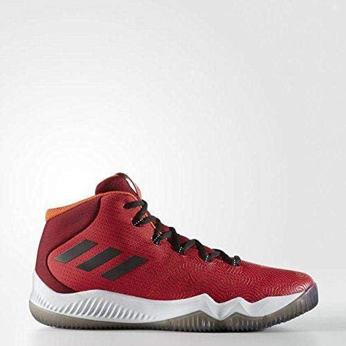 Adidas Crazy Crazy Hustle Chaussures de Basketball Homme, Rouge (Escarl Negbas Buruni) 48 EU  bon prix